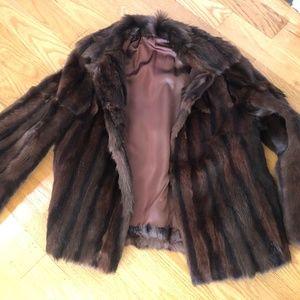 Jackets & Blazers - Real Mink Fur coat